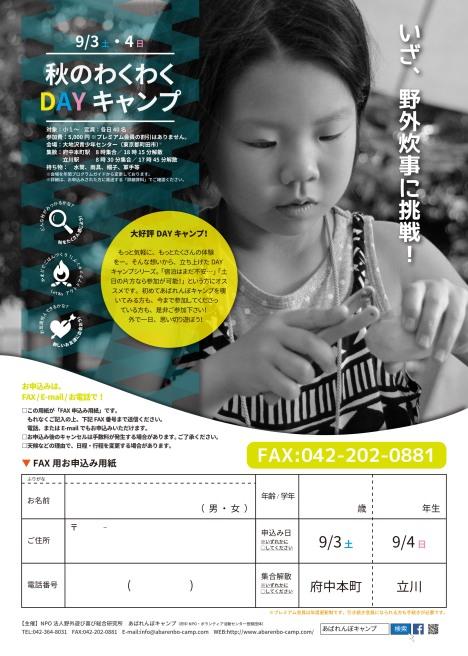 20160616秋キャンプチラシ(はじ秋&DAY) WEB